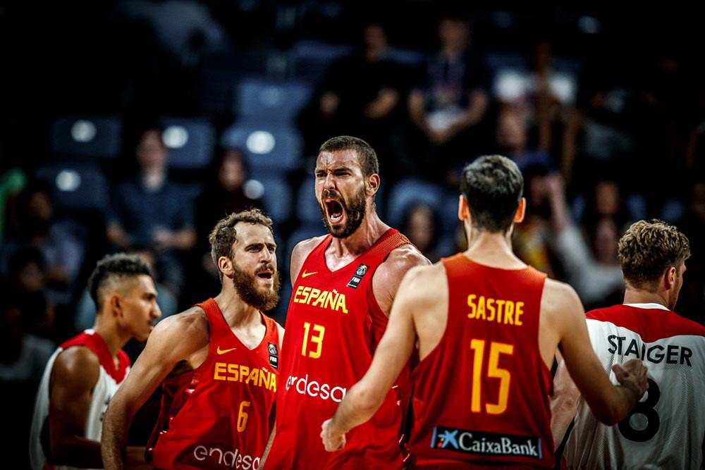 La Selección Española de Baloncesto vence a Alemania en el Eurobasket | FIBA