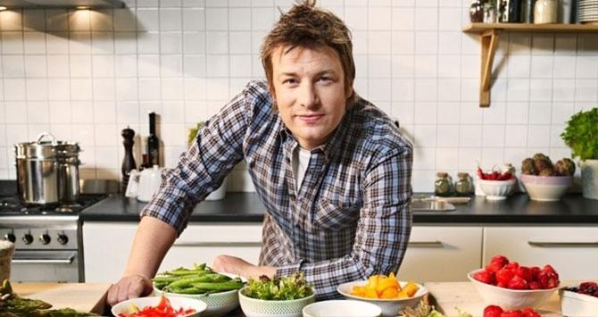 Jamie Oliver, chef británico