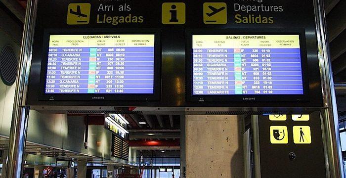 Siete aeropuertos canarios consiguen certificados de la AESA
