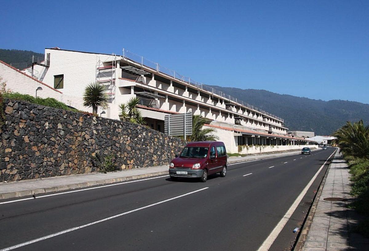 La agredida, felizmente fuera de peligro, sigue en la UCI del Hospital general de La Palma. DA