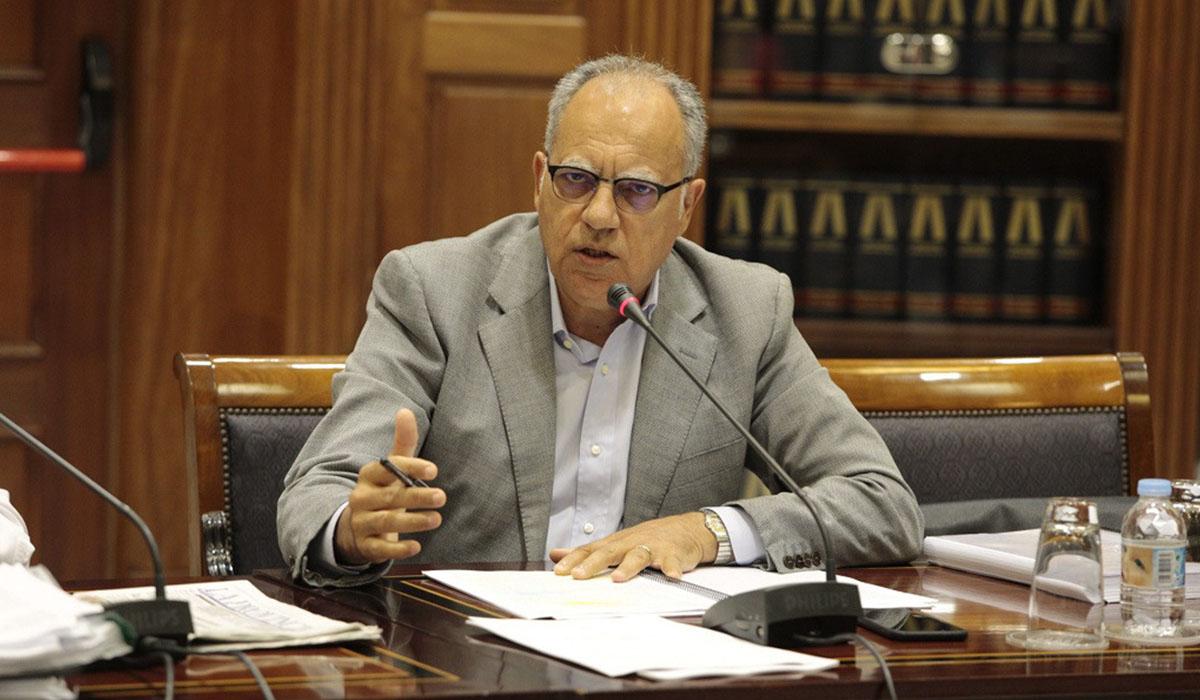 Casimiro Curbelo, residente del Cabildo de La Gomera. DA