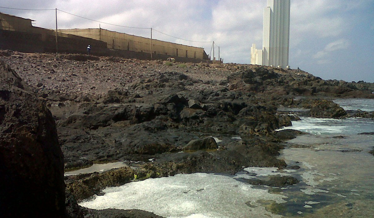 Vertidos como los del Valle de Güímar o del área de Valle de Guerra (en la imagen) ya han sido sancionados por la UE. enaguere.com