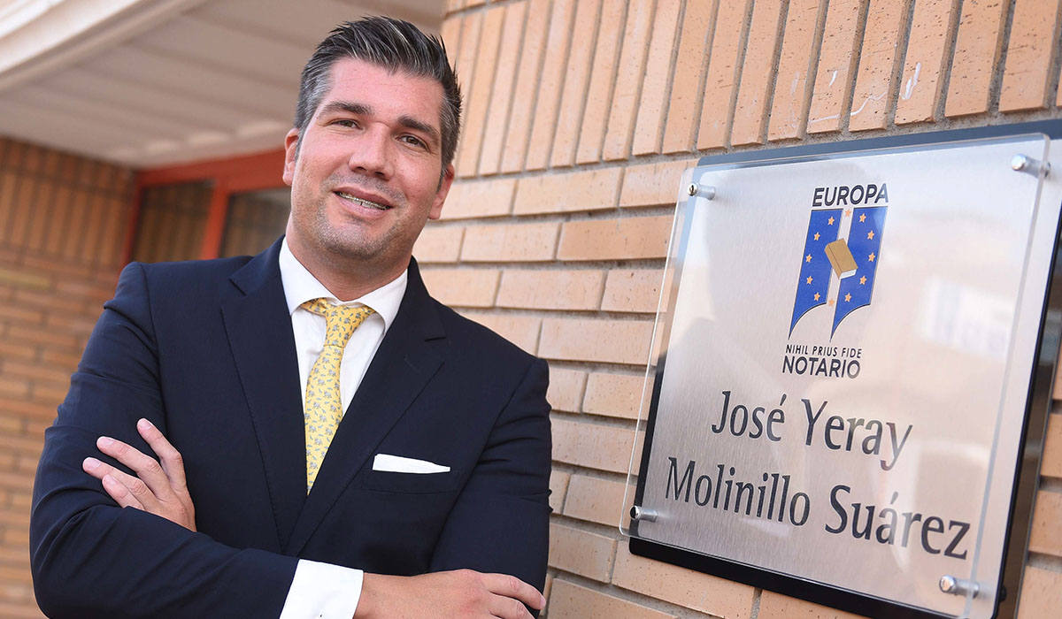 Yeray Molinillo, notario de Adeje. Sergio Méndez