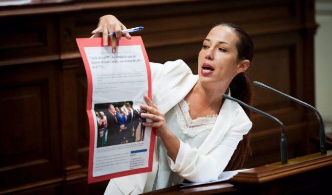 """Toda la oposición acusa al Gobierno de Canarias de """"mentir"""" reiteradamente a la ciudadanía"""