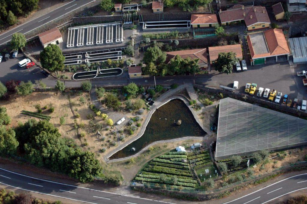 El Centro Cinegético y Piscifactoria de Aguamansa se encuentra en los altos de La Orotava y tuvo su origen en el vivero forestal creado en 1950. DA