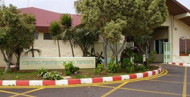 Entrada al Centro penitenciario Tenerife II, en El Rosario. DA