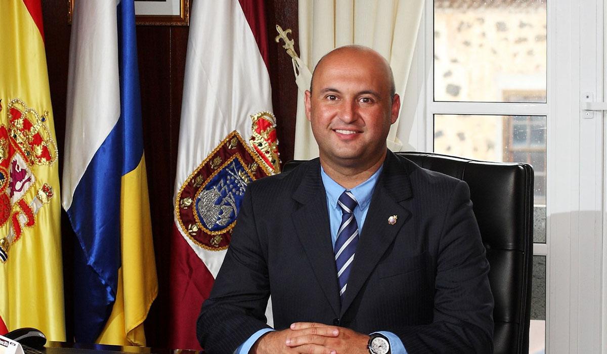 José Domingo Regalado (CC), alcalde de granadilla de abona. DA