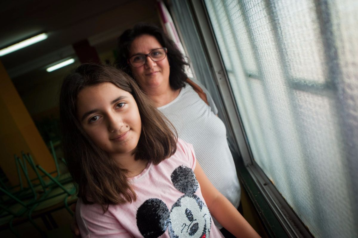 María Victoria y su hija Victoria apoyan esta iniciativa culinaria. F. P.