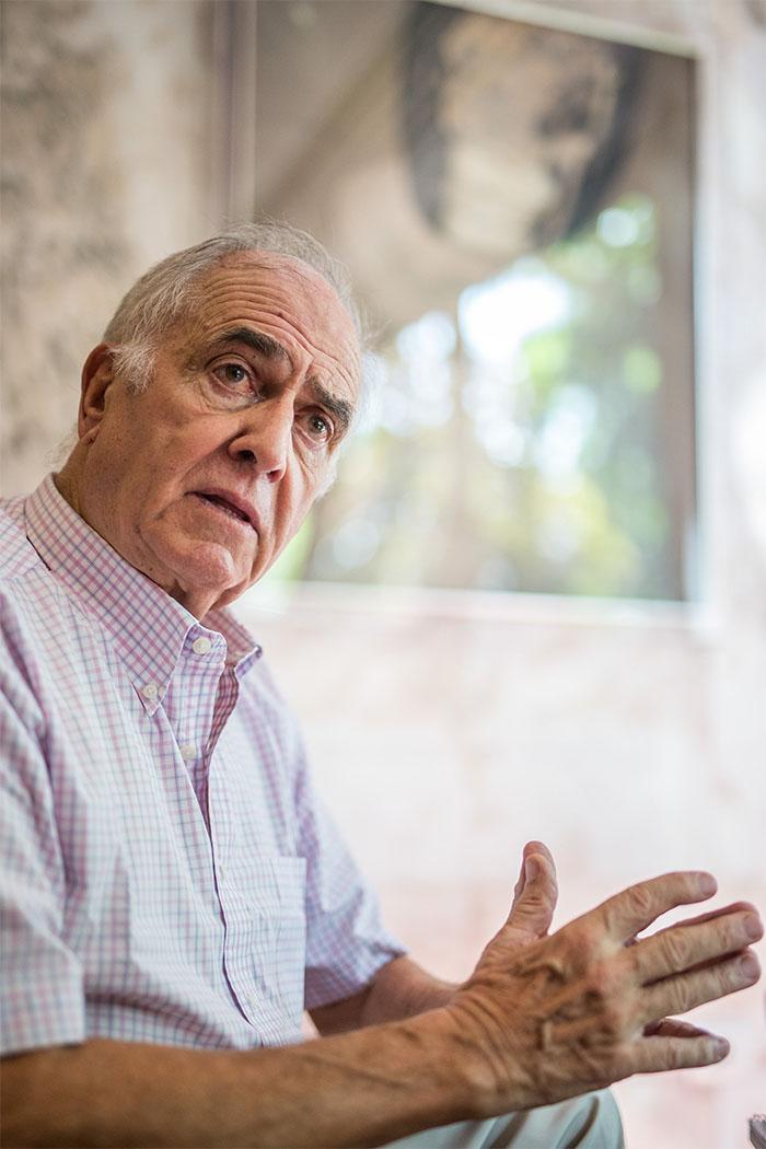 Isidoro Sánchez, exconcejal, senador, consejero y eurodiputado. Andrés Gutiérrez