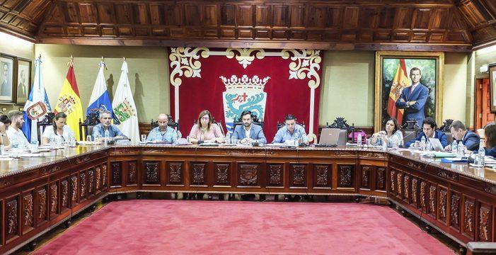 El Pleno aprueba ceder al Cabildo terrenos para la nueva estación de guaguas