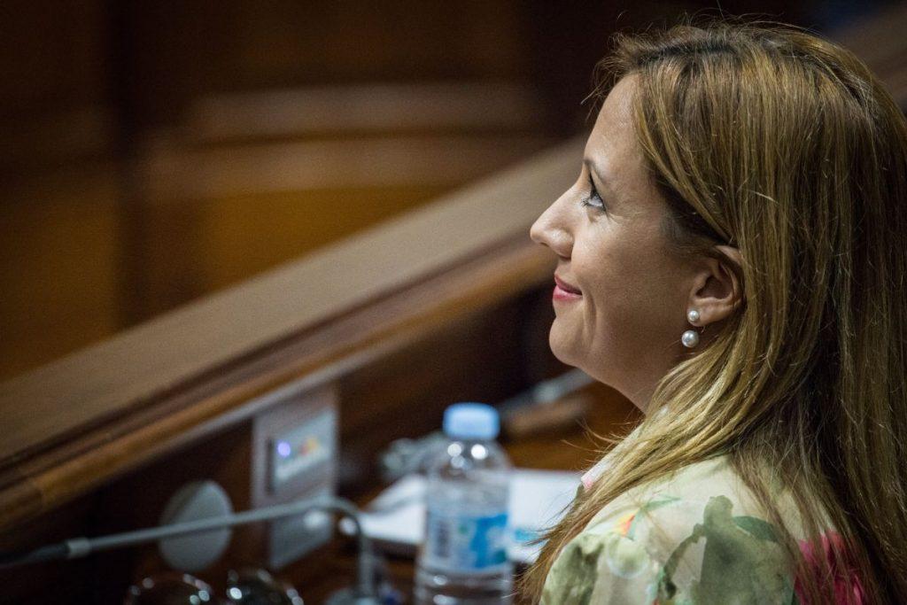 Rosa Dávila (CC), consejera de Hacienda | Andrés Gutiérrez