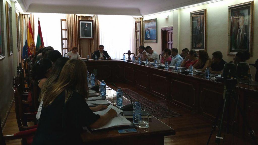 Salón de plenos del Ayuntamiento de Arona | DA