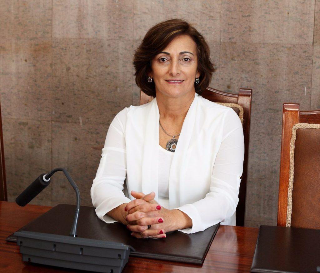 María de la O Gaspar, concejal de Servicios Sociales. DA