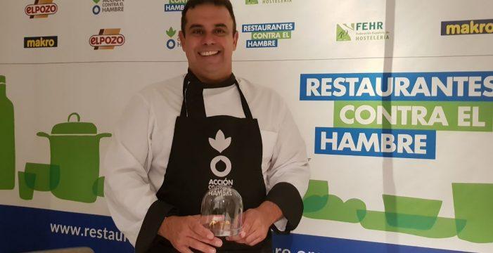 Juan Carlos Padrón se une a la campaña Acción contra el Hambre