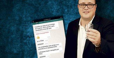 Desvelan mensajes machistas del concejal lagunero Zebenzuí González