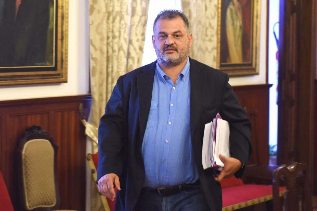 José Alberto Díaz (CC), alcalde de La Laguna | Sergio Méndez