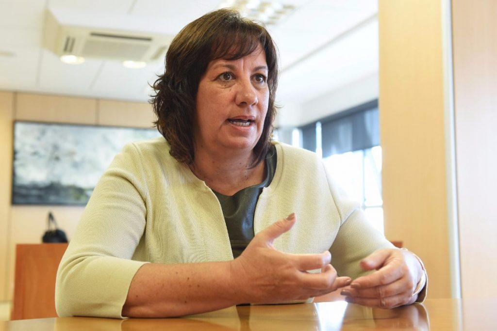Soledad Monzón (CC), consejera de Educación del Gobierno de Canarias   Sergio Méndez