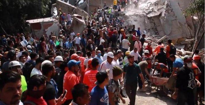 Muere un español en el terremoto de México