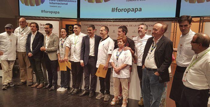García Ponte, vencedor del Concurso Nacional de Tortillas de Papas
