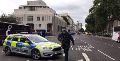 La Policía confirma varios heridos por un atropello cerca del Museo de Historia Natural de Londres