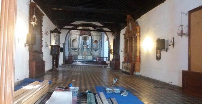 Se cierra al culto la iglesia de Santa Ana de Candelaria por obras en su tejado