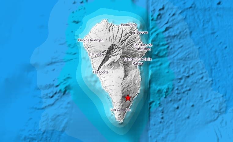 Resultado de imagen de terremoto lapalma