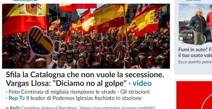 Medios internacionales se hacen eco de la manifestación en Barcelona