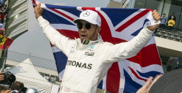 Hamilton se proclama tetracampeón mundial