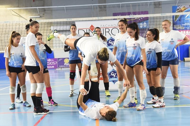 El CV Fachadas Dimurol Libby´s ya prepara el inicio de la Superliga de este fin de semana  SERGIO MÉNDEZ
