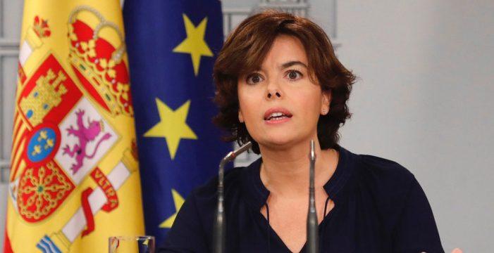 El Gobierno no se plantea retirar la intervención de las cuentas de Cataluña