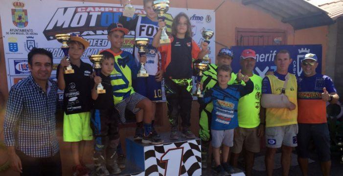 Interesante última prueba del Campeonato Provincial de Motocross