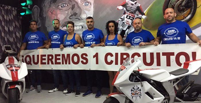 Nueva manifestación en favor del Circuito de velocidad en Tenerife el 17 de diciembre
