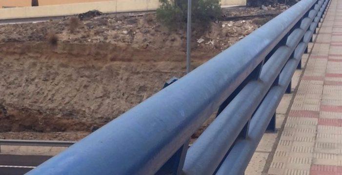 El PP impulsa la adaptación peatonal de los puentes sobre la autopista en Candelaria