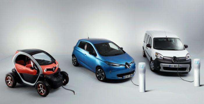 Renault lidera tanto el mercado europeo como el mercado español de vehículos 100% eléctricos