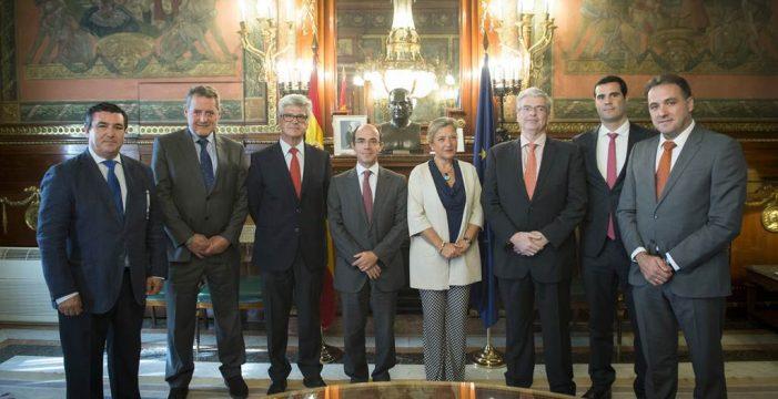 Las siete zonas francas españolas  deciden trabajar unidas