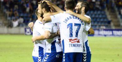 La ambición del CD Tenerife facilita su merecida victoria ante el Nàstic