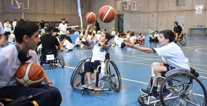 200 estudiantes disfrutan del deporte para todos