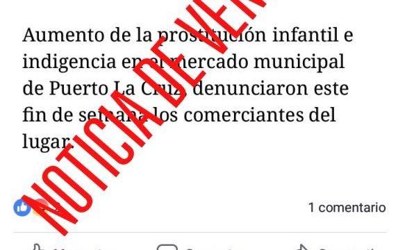 No, no hay niñas prostituyéndose en el mercado del Puerto de la Cruz