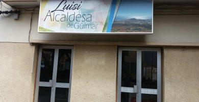 Nueva cartelería de la sede del PP en Güímar | Norchi