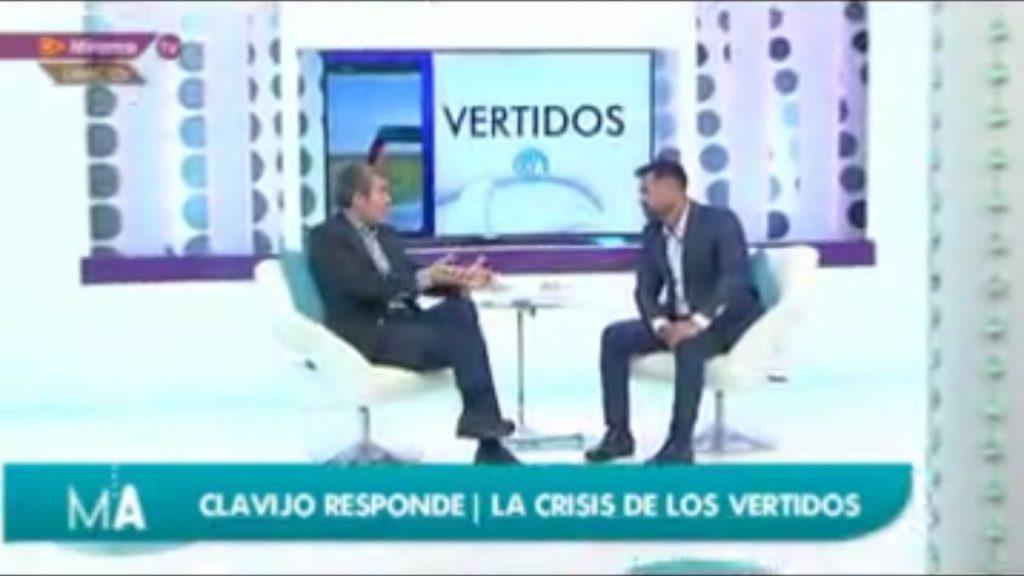 Fernando Clavijo con Manuel Artiles en Mírame Televisión | Mirame