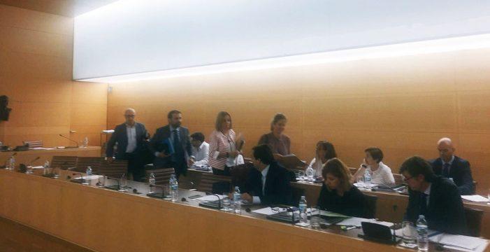 Alonso expulsa del pleno a Ledesma (PP) en la discusión de Las Hiedras