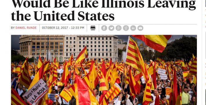 """Un artículo en 'Foreign Policy' dice que el independentismo ha """"abusado"""" y """"no merece apoyo internacional"""""""
