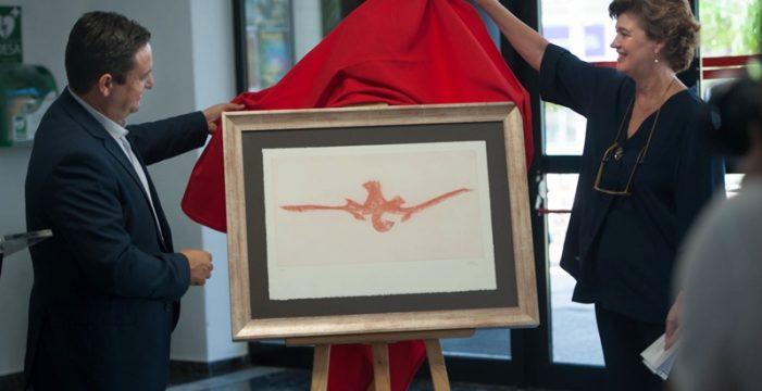 Martín Chirino dibuja 'Otro infinito sobre Tenerife'