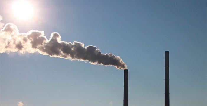 Las emisiones de CO2 baten récord en el mundo en 2016