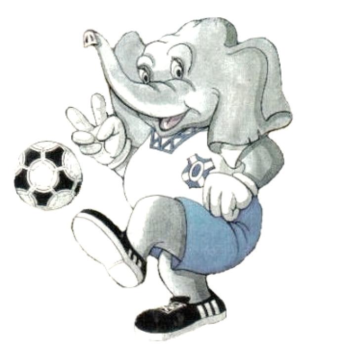 Elio-Doro ya fue la mascota oficial en los dorados años de la UEFA| DA