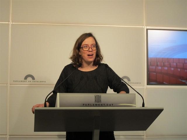 Eulàlia Reguant, diputada de la CUP | EP