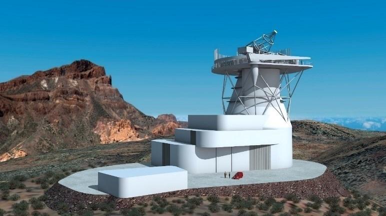 Telescopio Solar Europeo (recreación) | EP