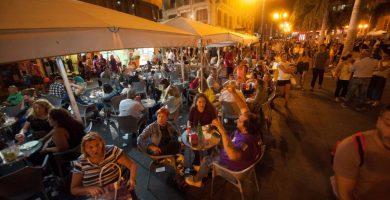 Momentos del Plenilunio en Santa Cruz de Tenerife   FOTO: Fran Pallero