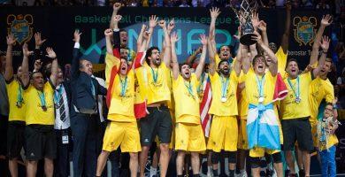 Los aurinegros son los actuales campeones de la máxima competición europea de clubes de la FIBA. Fran Pallero