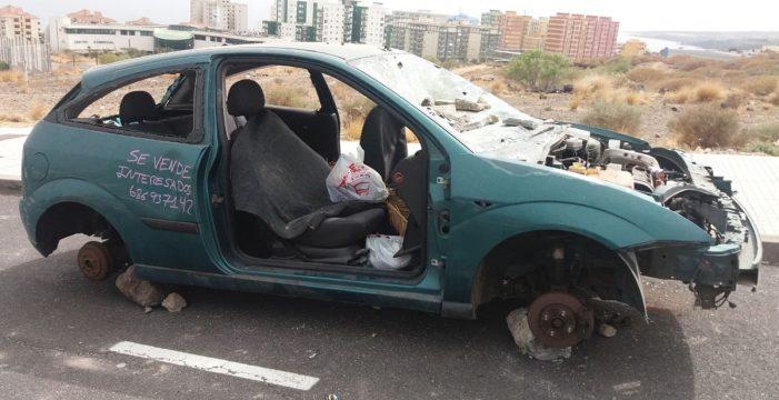En marcha un 'zafarrancho' para retirar los vehículos abandonados